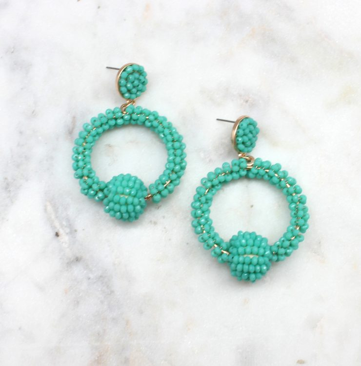 A photo of the Can't Help Myself Earrings product