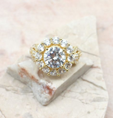 A photo of the Sheer Bliss Ring product
