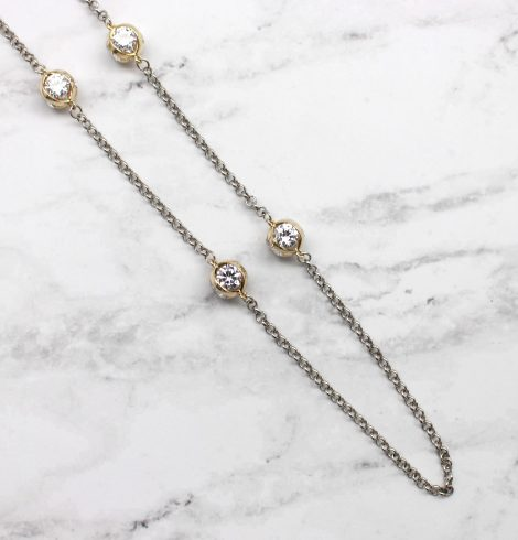 A photo of the City Girl Necklace product