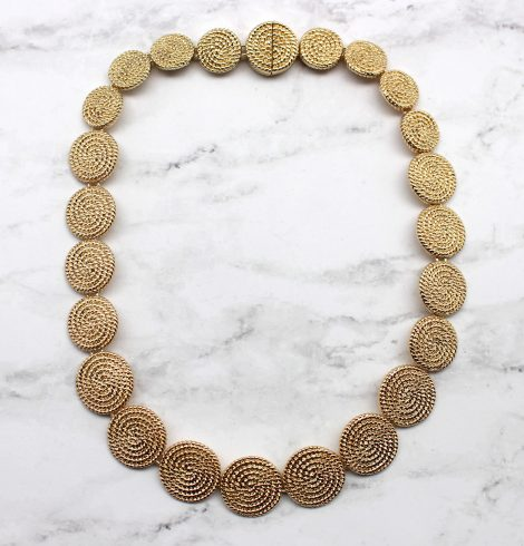 A photo of the Coined It Necklace product