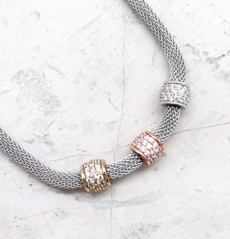 A photo of the Cute As Pie Necklace product