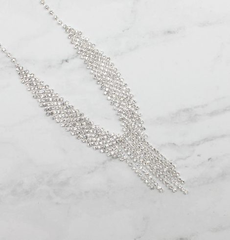 A photo of the Born To Be Glamorous Necklace product