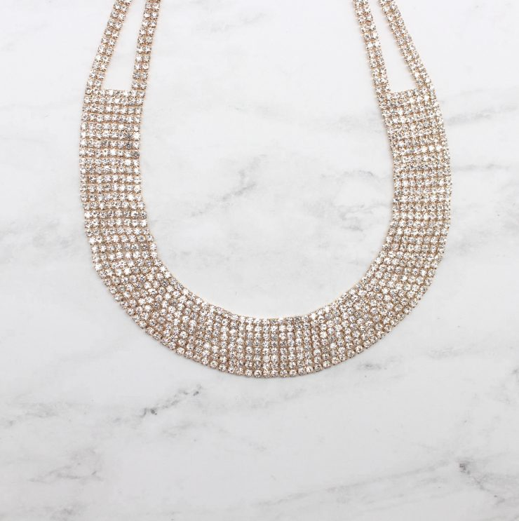 A photo of the Like A Model Necklace product