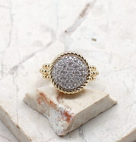A photo of the Meant To Be Ring Circle product