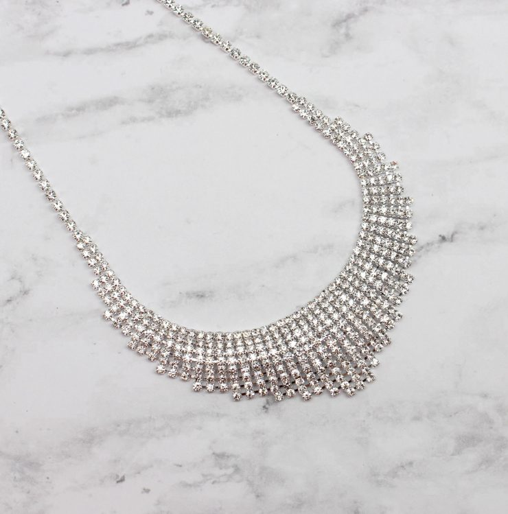 A photo of the Meet Me At The Ball Necklace product