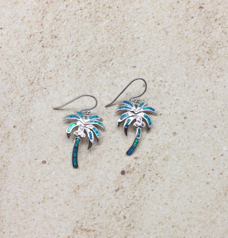 A photo of the Palms In Paradise Earrings product