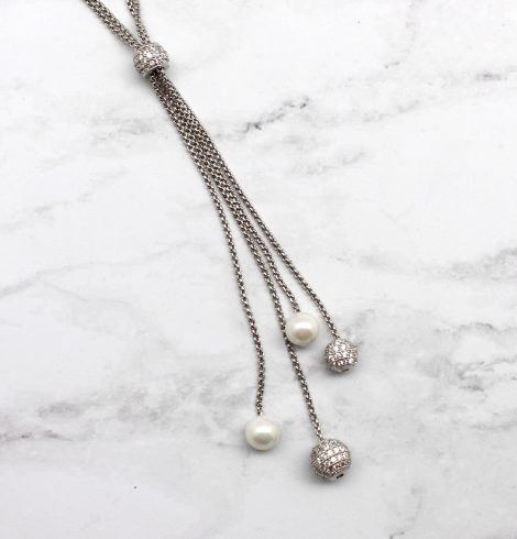 A photo of the Pearl Perfect Necklace product