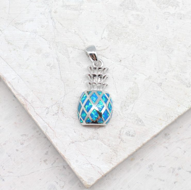 A photo of the Pineapple Perfection Pendant product