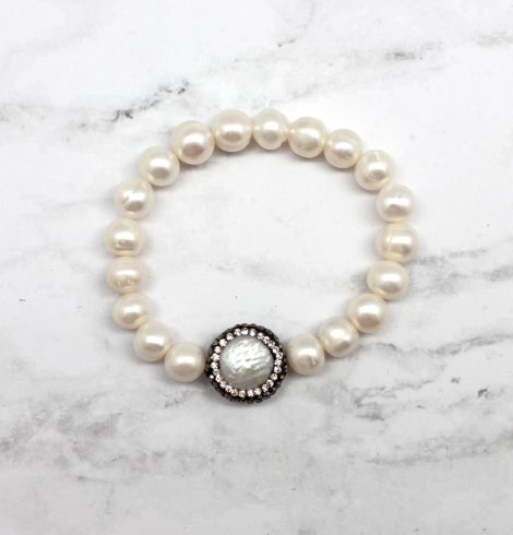 A photo of the Playful Pearl Bracelet product