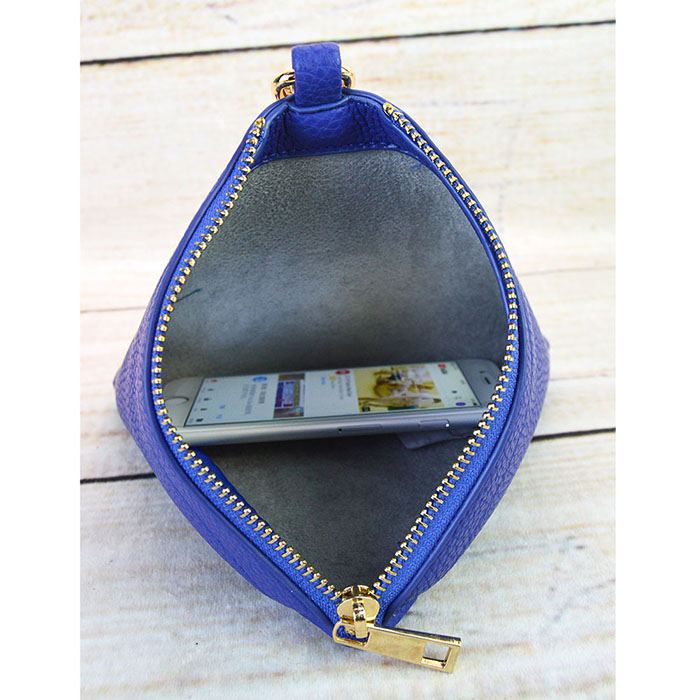 A photo of the Love Triangle Wristlet product