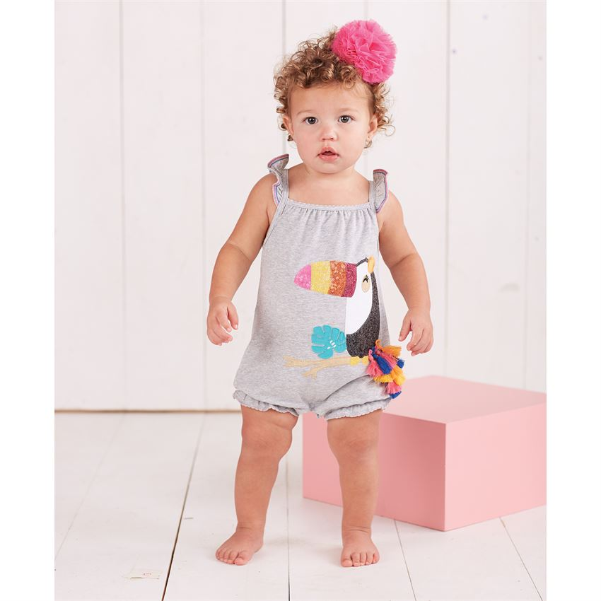 008e1161170d Sequin Toucan Tassel Bubble Romper - Best of Everything | Online ...