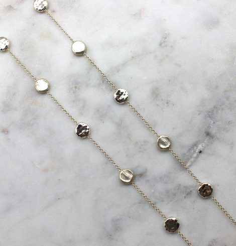 A photo of the Step By Step Necklace product
