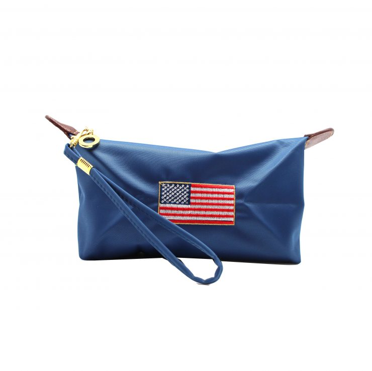 A photo of the Patriotic Cosmetic Bag product