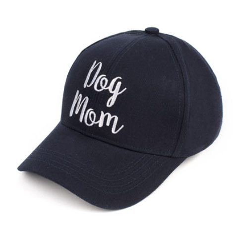 A photo of the Dog Mom Baseball Cap product