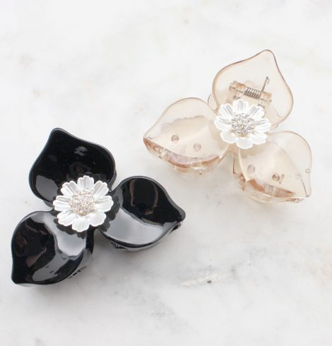 A photo of the Flower Claw Clip product