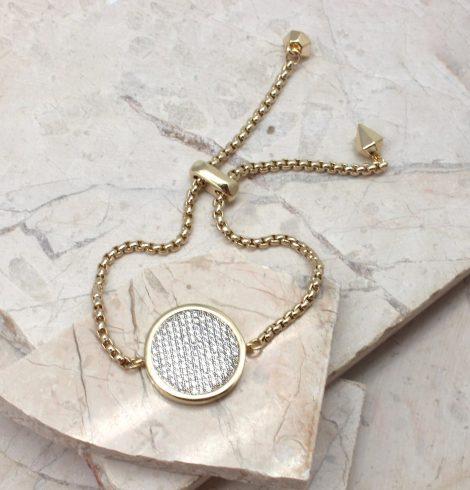 A photo of the Modern Medallion Bracelet product