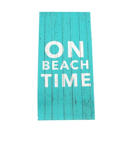 A photo of the On Beach Time Towel product