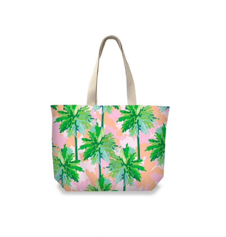 A photo of the Palm Tree Tote product