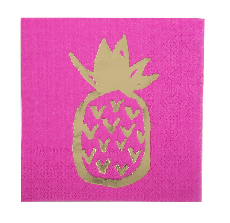 A photo of the Pineapple Napkins product