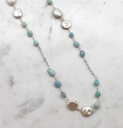 A photo of the Sea You There Necklace product