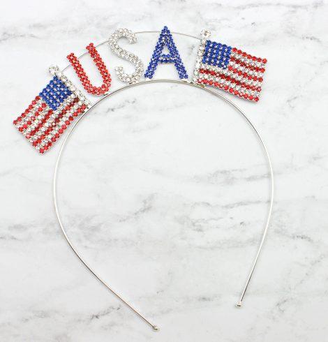 A photo of the The Good Ol' USA Flag Headband product