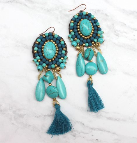 A photo of the Daydreaming Beauty Earrings product
