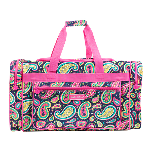 A photo of the Paisley Duffel Bag product