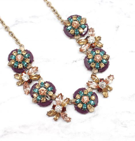 A photo of the Tea Time Necklace product