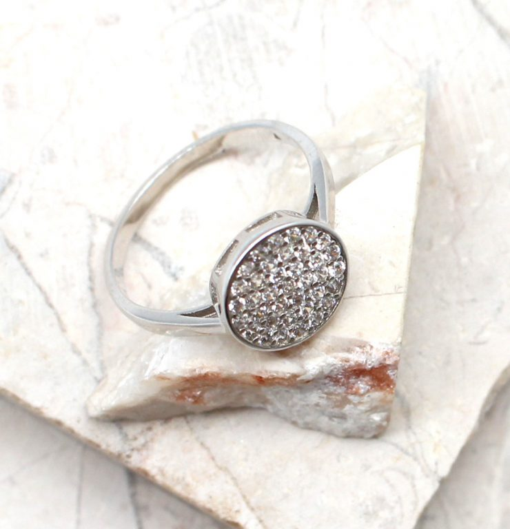 A photo of the The Circle Stone Ring product