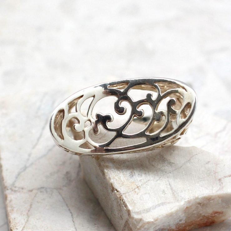 A photo of the The Doily Ring product