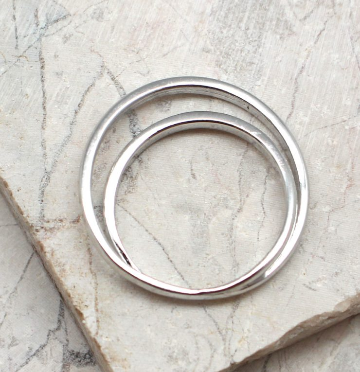 A photo of the The Double Trouble Ring product