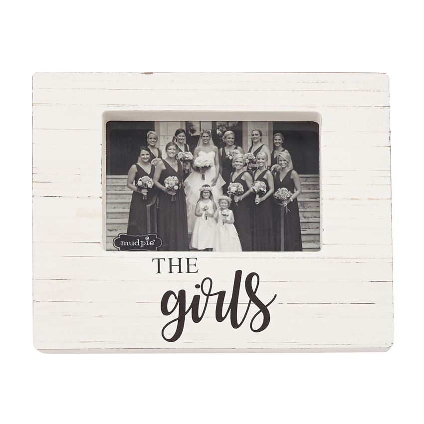 The Girls Wooden Block Picture Frame Best Of Everything Online
