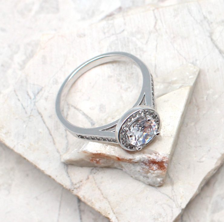 A photo of the The I Do Ring product