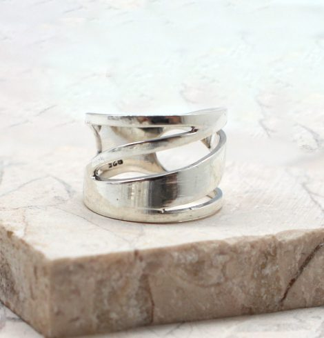 A photo of the The Twist and Turn Ring product