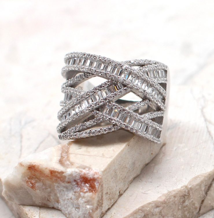 A photo of the The Woven Wonder Ring product