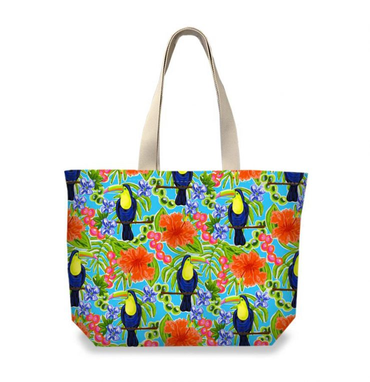 A photo of the Toucan Tote product