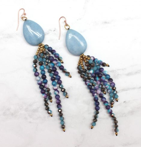 A photo of the Walk With Me Earrings product