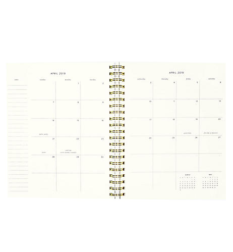 A photo of the Golden Floral Planner product