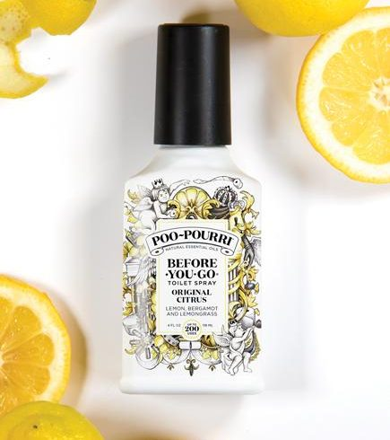 A photo of the Original Citrus Poo-Pourri product