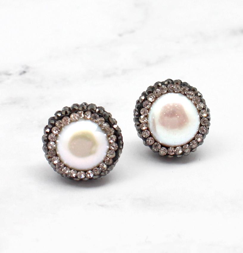 Pearl Dazzle Earrings