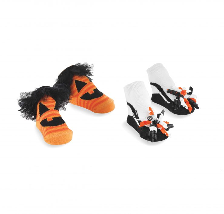 A photo of the Halloween Baby Socks product