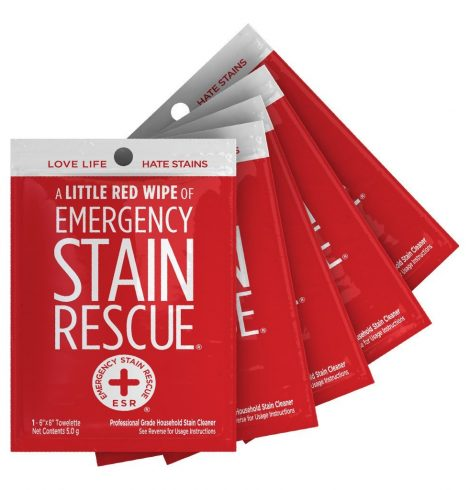 A photo of the Stain Rescue Wipes product