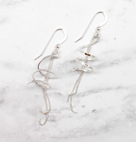 A photo of the The Freesia Earrings product