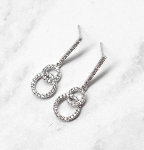 A photo of the The Loop De Loop Earrings product