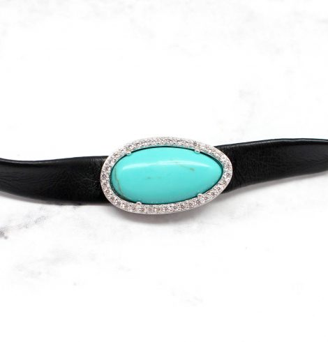 A photo of the The Turquoise Gal Choker product