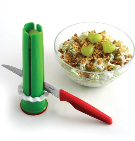 A photo of the Veggie Tube Cutting Guide product