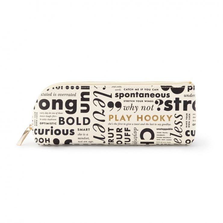 A photo of the What Do You Say Pencil Case product