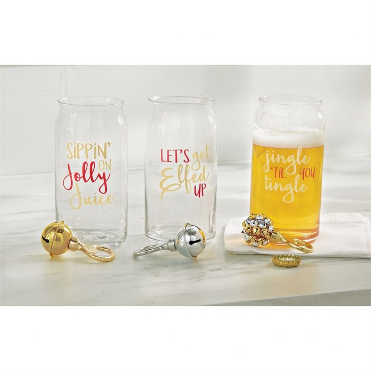 A photo of the Jolly Juice Beer Glass Set product
