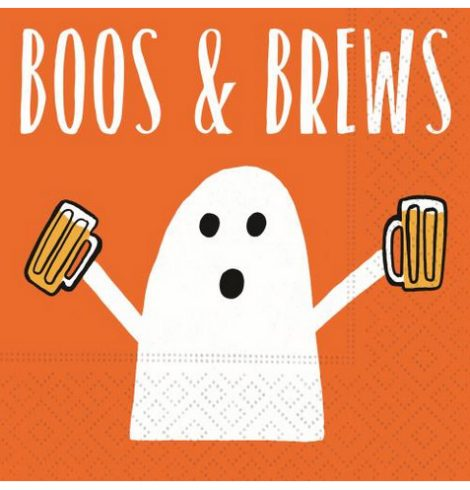 A photo of the Boos & Brews Napkins product