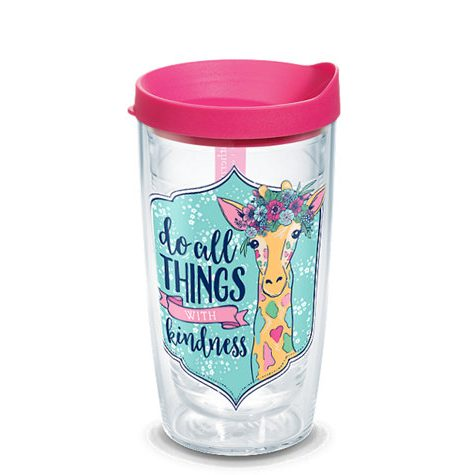 A photo of the Do All Things With Kindness 16oz Tumbler product